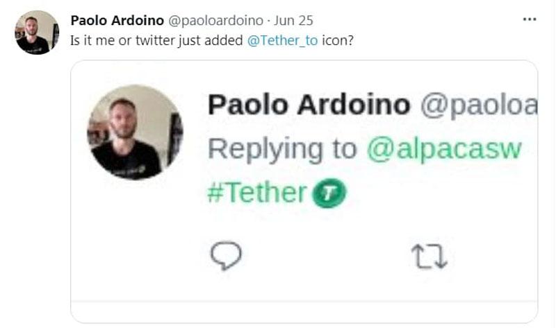توییت پائولو آردوینو | همتاپی