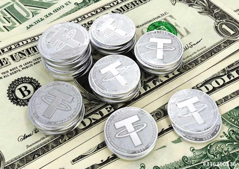 تقاضا برای دلارهای دیجیتال USDT و USDC در حال افزایش است | همتاپی