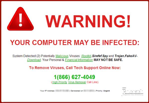 رایانه شما آلوده است! برای حذف بدافزار اینجا کلیک کنید یا هشدار! 74 عامل مخرب پیدا شده است؟ | همتاپی