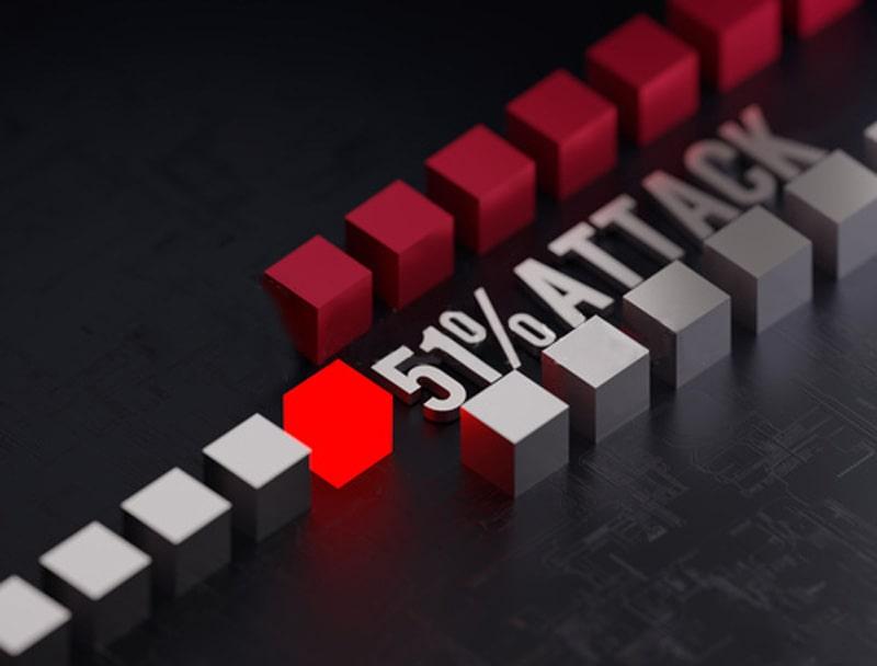 بررسی حمله 51% (51% Attack) در شبکه بلاکچین ارزهای دیجیتال   همتاپی