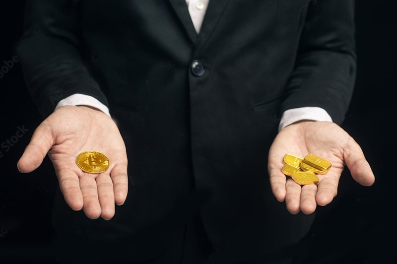 کاهش 9 درصدی قیمت طلا در برابر افزایش 50 درصدی قیمت بیت کوین   همتاپی
